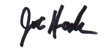 Joe Haakenson Signature