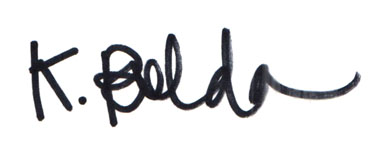 Kristin Bolda Signature