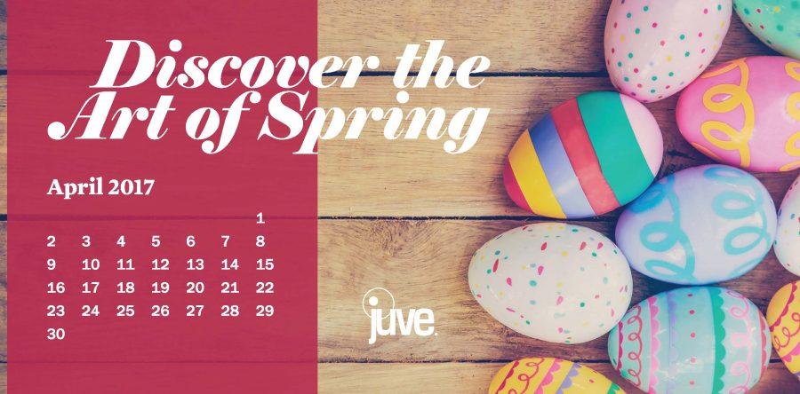 2017 April Calendar
