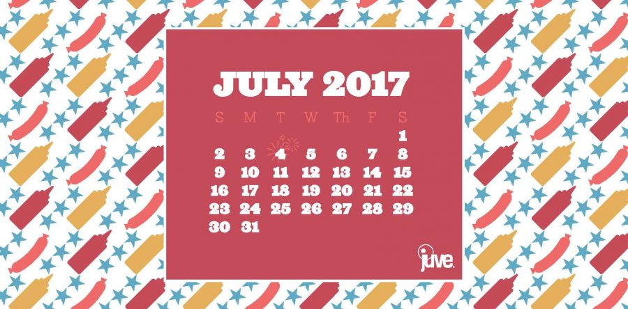 2017 July Calendar