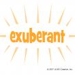 Exuberant