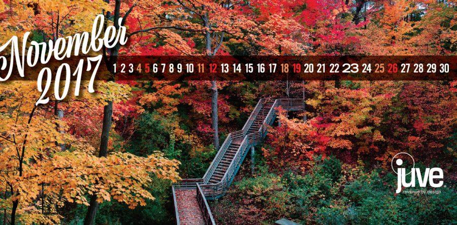 2017 November Calendar